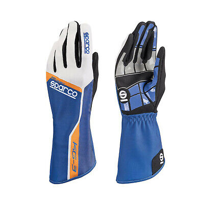 Sparco Track KG-3 Kart Gloves blue - Genuine - 9