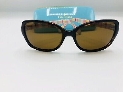 8f7a05e2e7a7 Kate Spade KS Ayleen Sunglasses RNL Brown Tortoise Frames Brown Polarized  Lens
