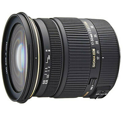 Sigma EX 17-50mm f/2.8 OS HSM DC Lens For Canon EF