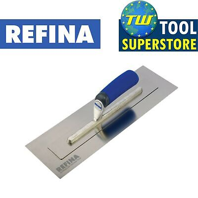 "Refina 16"" SuperFLEX Mark 3 Trowel Stainless Steel Skimming Super Flex Trowels"