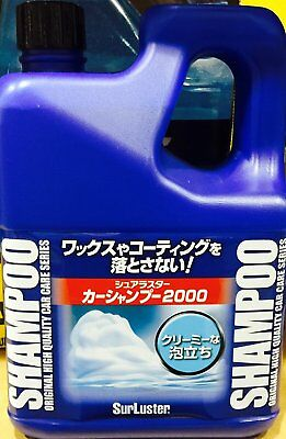 SurLuster Car shampoo 2000 Concentrated type