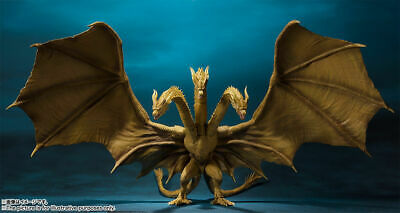 S.H. Monsterarts King Ghidorah Ghidrah Godzilla King of the Monsters KOTM Figure