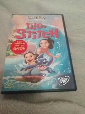 disneys lilo and stitch classic dvd first print in mint condition