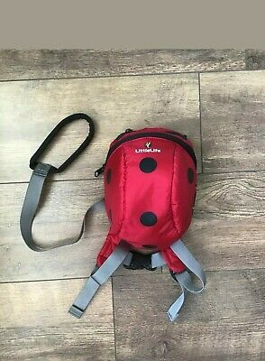 Little Life kids safety harness reins toddler backpack very good condition