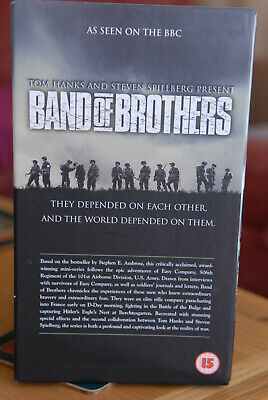 Band of Brothers VHS complete series Commemorative Gift set. Excellent condition
