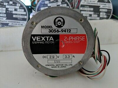 Vexta Stepper Motor, 2-Phase Stepping Motor DC 2.9V 1.8/step, Oriental Japan
