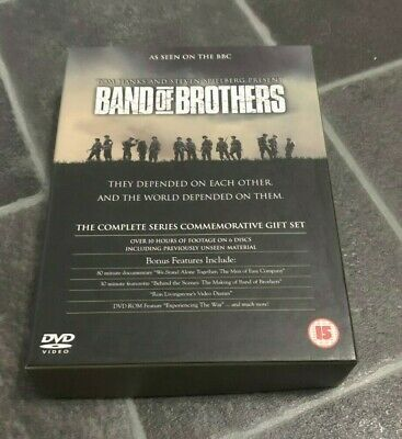 Band Of Brothers DVD The Complete Series Commerative Gift Set