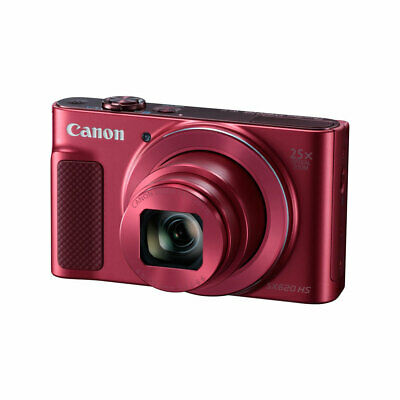 Canon PowerShot SX620 HS 20.2MP 25X Zoom RED Camera With Built in WiFi- Gr8 Deal