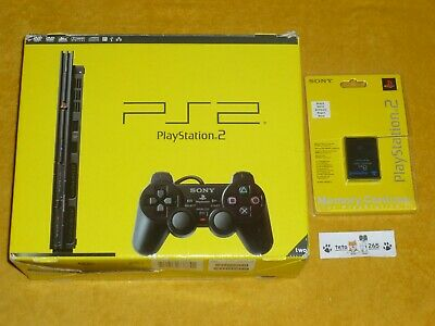 Sony Playstation 2 Slim Scph-70004 + Memory Cb  Ps2 Play Station Scph 70004 Cb