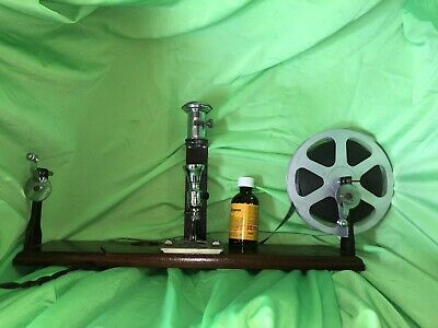 Keyston 16mm 8mm Film Editing And Cleaning Outfit