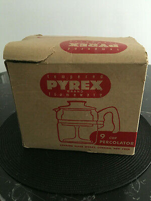 Percolateur Pyrex Corning Glass Works New York