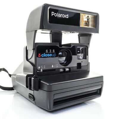 Polaroid 636 CLOSE UP Instant Camera in SUPER CONDITION **FREE UK P&P**