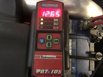 Midtronics PBT-105 battery Tester Charging Test Taskmaster