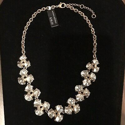 """New Silver or Gold 36/"""" Station Necklace by Banana Republic NWT $30 Tags #N2083"""