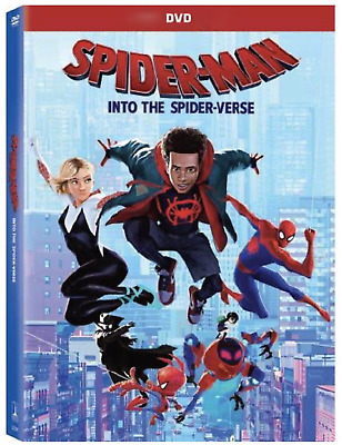 Spider-Man: Into The Spider-Verse DVD (2019) New & Sealed Free Shipping included