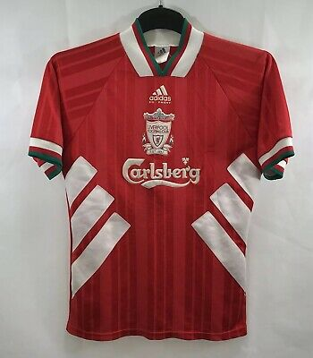 Liverpool Home Football Shirt 1993/95 Adults Small Adidas A710