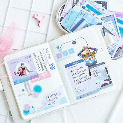 Stationary Scrapbooking Phone Decor Diary Label Paper Sticker Journal Stickers