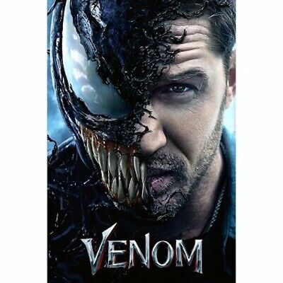 VENOM (DVD,2018) New & Sealed Tom Hardy Free Shipping included!