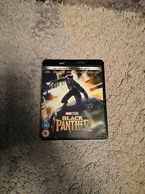 Marvel Black Panther 4K Ultra HD Blu-ray DVD UHD - used in great condition