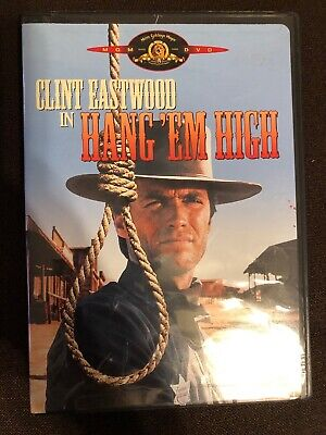 Clint Eastwood In Hang Em High DVD New Sealed!
