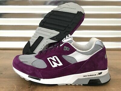 c9d4914f314a9 New Balance 991.5 Suede Retros Shoes Purple Gray Made in England SZ (  M9915CC )