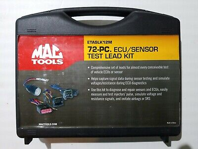 Mac Tools 72-Pc. Ecu / Sensor Test Lead Kit Etaslk12M