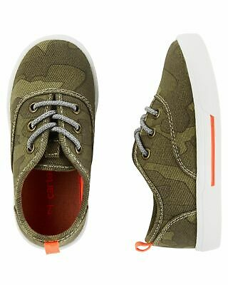 Carters Little Boys Toddler Sneakers Shoes Camo NWT Size 5,6,7,10