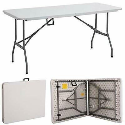 Garden New Compact Fold Able 6 Ft Heavy Duty Folding Catering Camping Trestle
