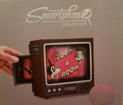Retro Cell Phone Video Screen Magnifier