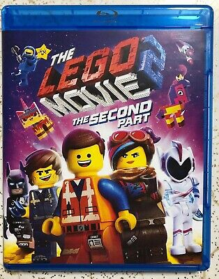 The Lego Movie 2 Second Part Blu Ray Only 2018 2019