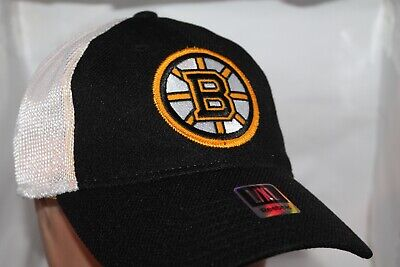 sale retailer 4d548 31912 Boston Bruins Reebok NHL Mesh Back Flex Fit,Cap,Hat L XL