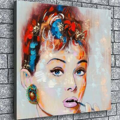 audrey hepburn Poster HD Canvas Prints Paintings Home Room Decor Wall art Photo