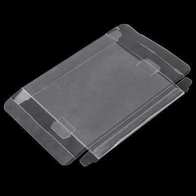 Clear PET Plastic Box Protector Case Sleeves Cover For SNES N64 CIB Boxed Gamej!