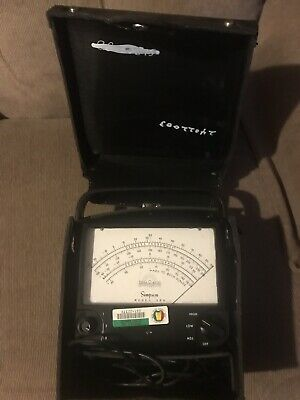 Vintage Simpson 389 Therm-O-Meter Thermometer With Case