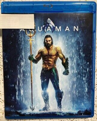 Aquaman Aqua Man DC Movie Blu Ray Only 2018 2019