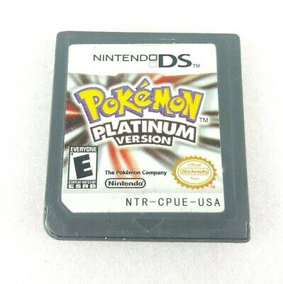 Pokemon -- Platinum Version (Nintendo DS, 2009) Tested Working Game Only Saves