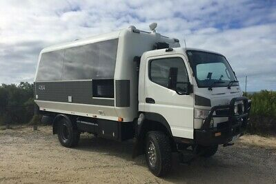 ALL TERRAIN WARRIORS 4X4 Fuso Canter RV Motorhome 48V / 15A / 5KW / 660W Solar