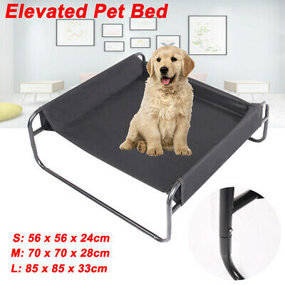 New S/M/L Portable Waterproof Elevated Dog Pet Bed Outdoor Raised Camping Basket
