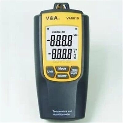VA8010 Temperature Temp Thermometer Humidity Dew Point Meter Tester 3 In 1 mn