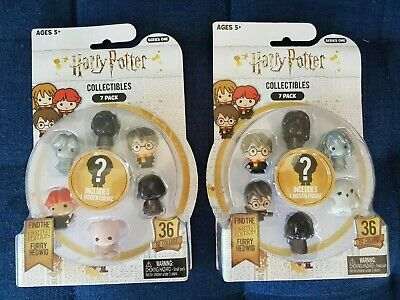 SERIES 1 HARRY POTTER COLLECTIBLES 2 x 7-PACK  Total of 14 figures! NEW SEALED