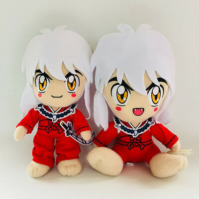 "New 12/"" Inuyasha Standing Inuyasha Kawaii Rare RED Doll Plush Toy Gift"