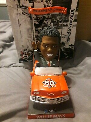 San Francisco Giants Willie Mays Bobblehead 4/07/2018 SGA