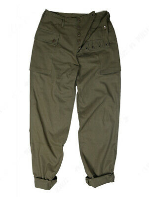 WWII U.S. Army HBT USMC P44 Casual Trousers Marine Corps Vint