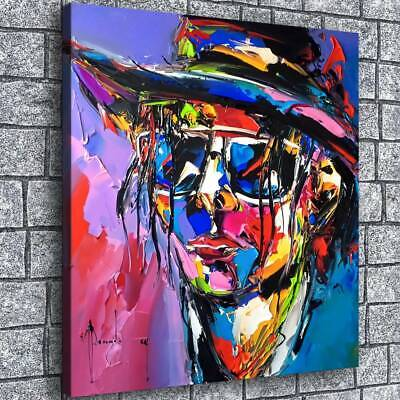 """12""""x14""""Abstract color male HD Canvas Prints Paintings Home Decor Wall art Photo"""