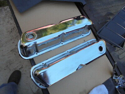 ford s/b 289 302 tall chrome valve covers