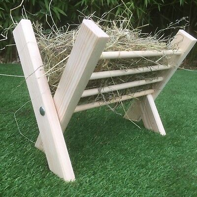 Rabbit hay rack folding hay rack guinea pig hay rack Rabbit hay feeder