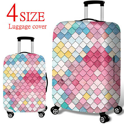 """18""""-32"""" Travel Luggage Cover Protector Elastic Suitcase Dust-Proof Anti"""