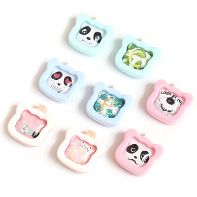 Kids Mosquito Repellent Buckle Cartoon Bear Head Safe Anti-mosquito Insect Clip