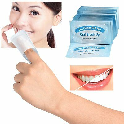 10PCS 3D Advanced Express White Effects Whitestrips Oral Teeth Whitening-Strips