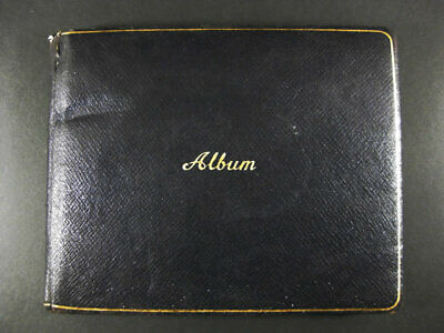 Genuine Vintage Album With Personal Quotations And Inscriptions 1950-51